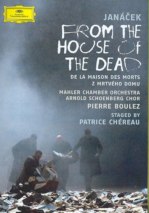 JANACEK:FROM THE HOUSE OF THE DEAD BY BOULEZ,PIERRE (DVD)